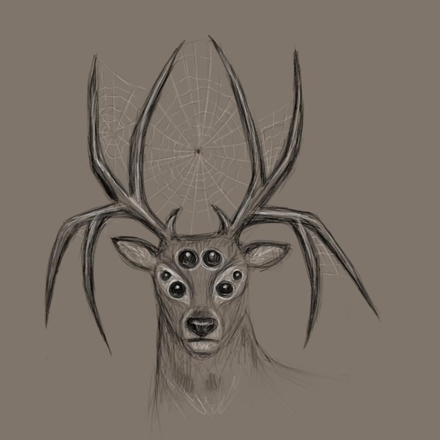 Spider Deer by TamalasGhost