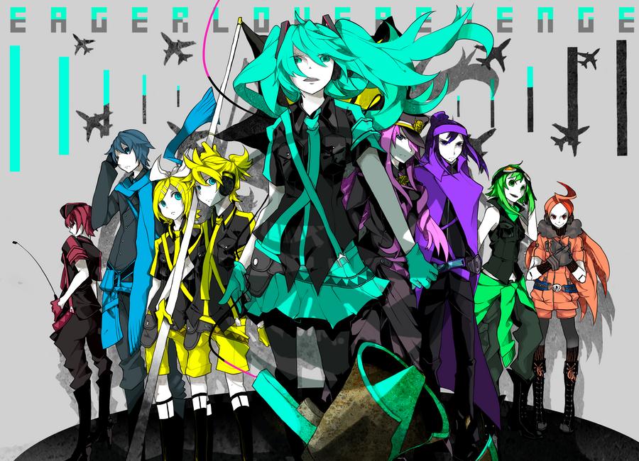 vocaloid, love is war, vocaloid, hatsune miku, k-on, group ...