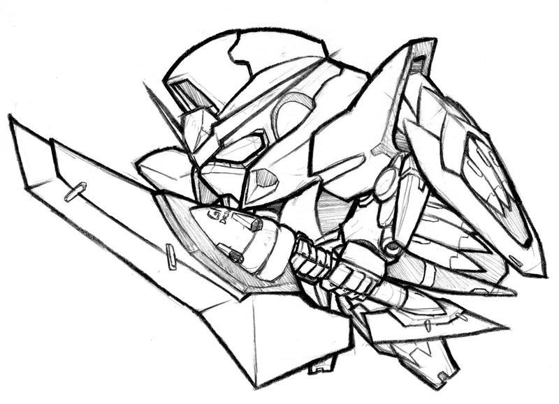 Gundam Zwei by biomonkz
