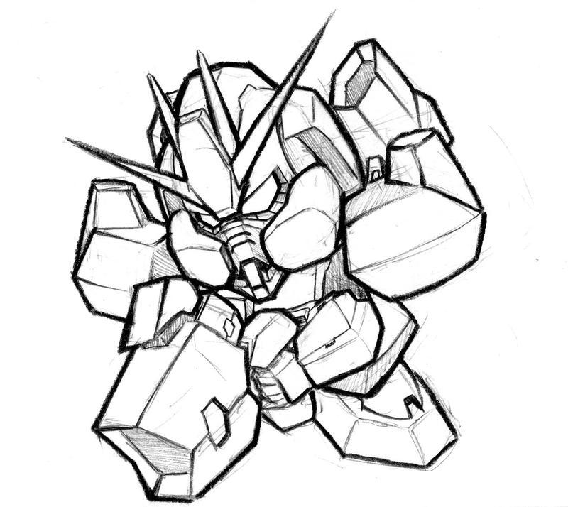 0 Seravee Gundam by biomonkz