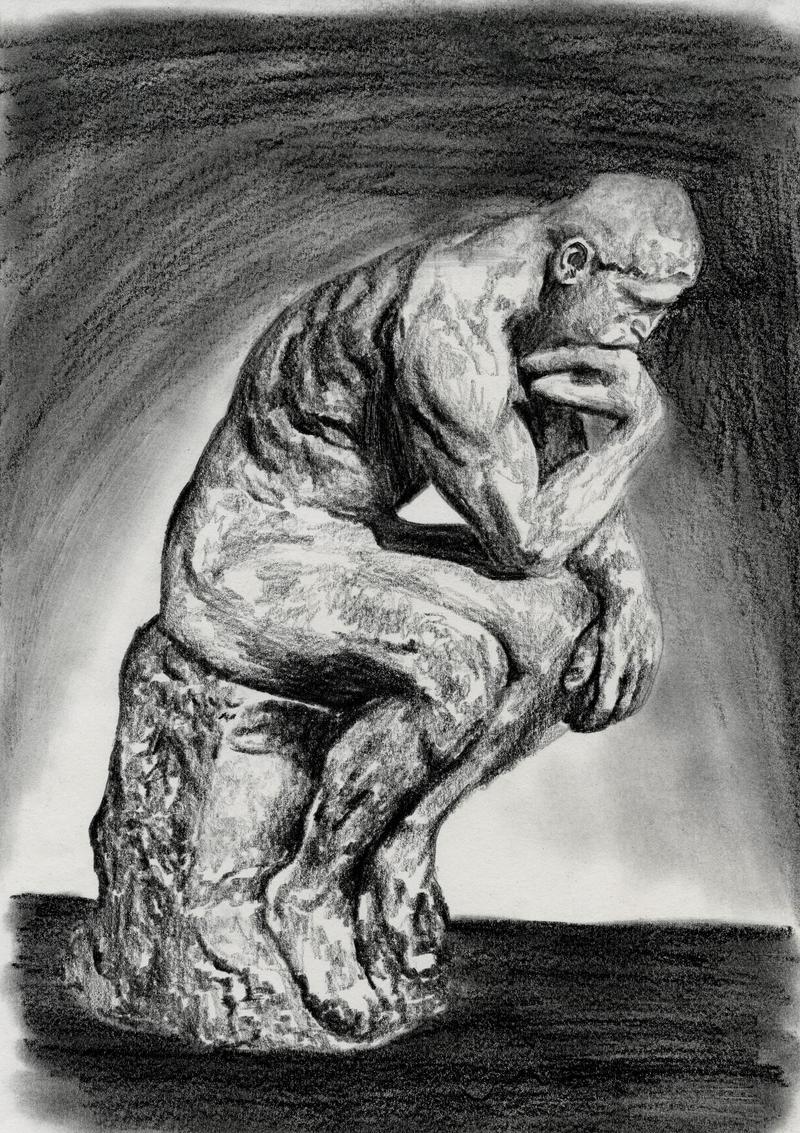 The Thinker by biomonkz