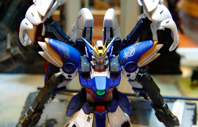 Wing Gundam Zero by biomonkz