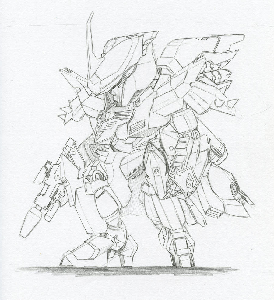 GNW-06S Arche Gundam Sinanju by biomonkz