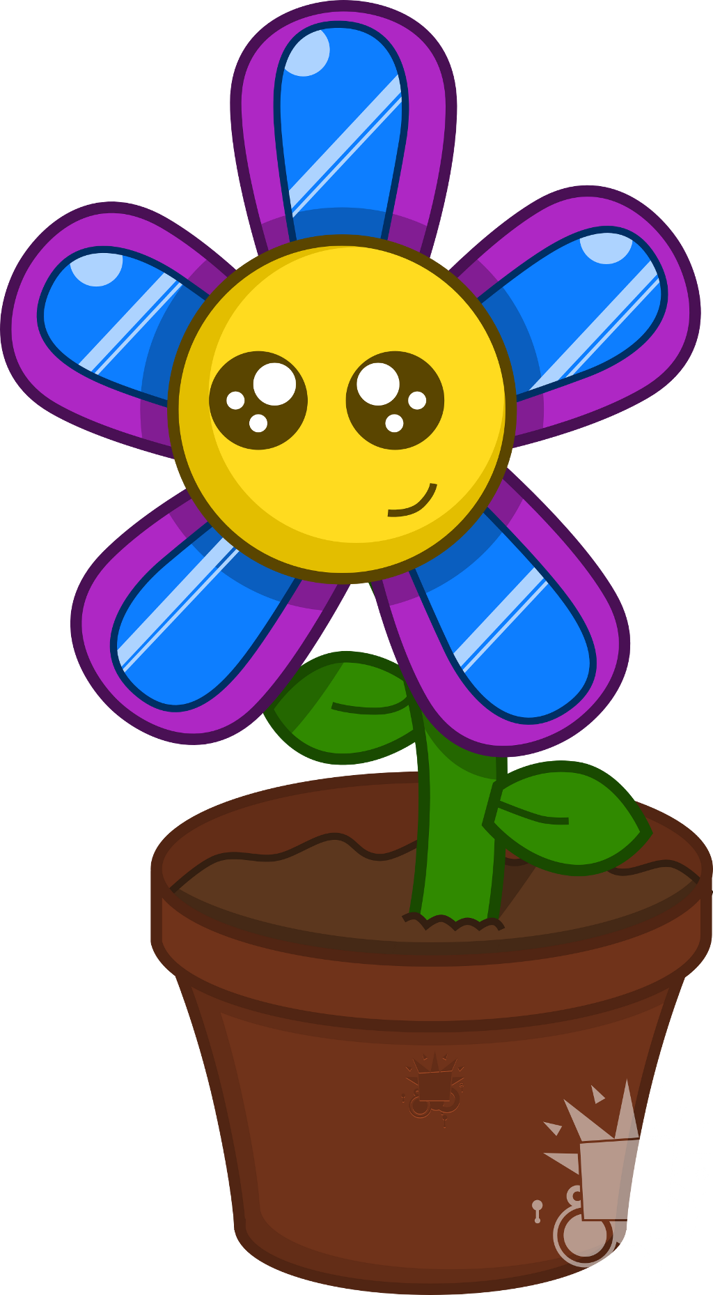 Happy Flower by Phlum