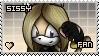 Sissy the Hedgehog Stamp by Xssys