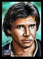 Han Solo - SW Galaxy 7 by SSwanger