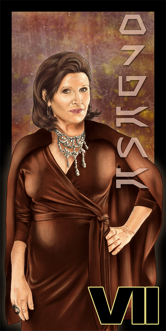 Leia Organa - Episode VII by SSwanger