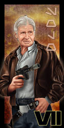 Han Solo - Episode VII by SSwanger