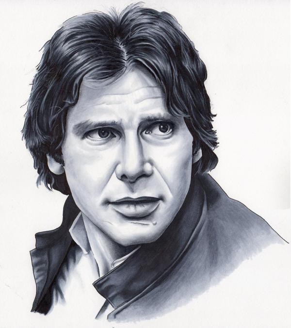 Han Solo Sketch