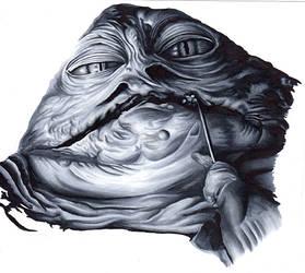 Jabba the Hutt by SSwanger