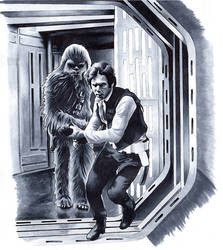 Han and Chewie by SSwanger
