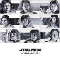 Topps Empire Strikes Back Illustrated Set #3