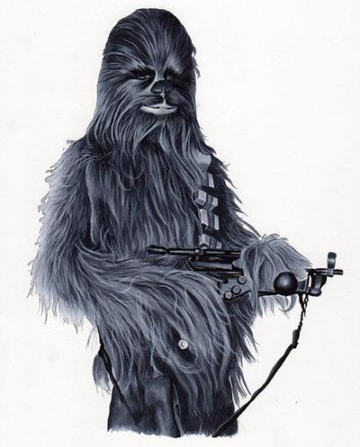 Chewbacca by SSwanger