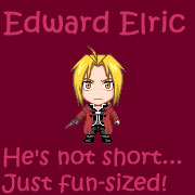 Funsized Edward Elric by EmoBunnyBells