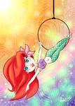Disney Dancers - Ariel on Hoop