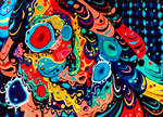 Fluid  paint by DeniseGT