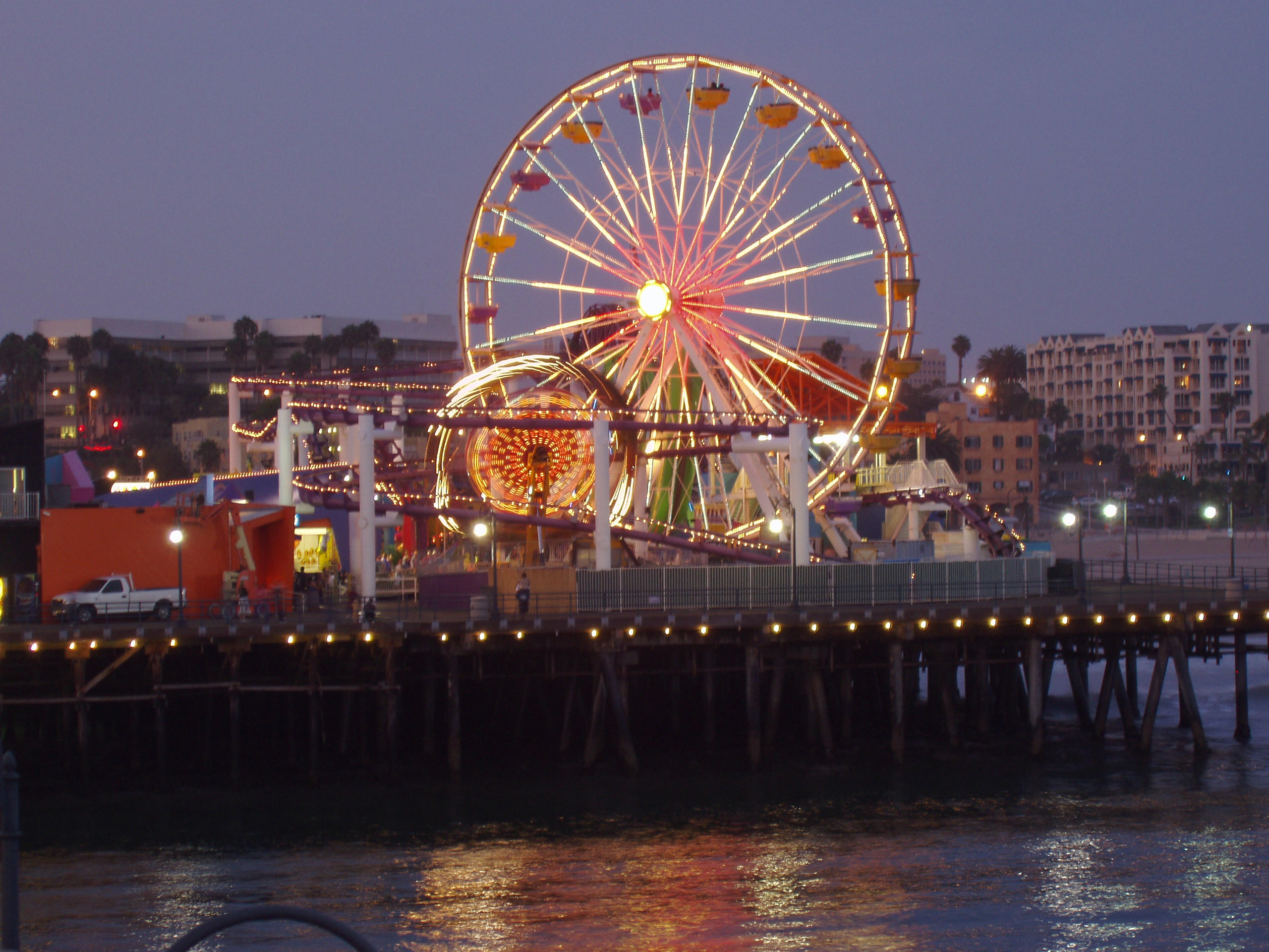 Image result for santa monica ferris wheel