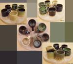 experiment of glaze