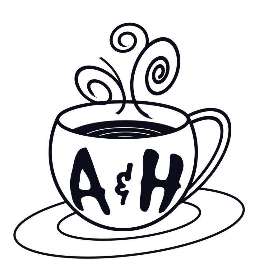 coffeehouse logo by celestialdebris