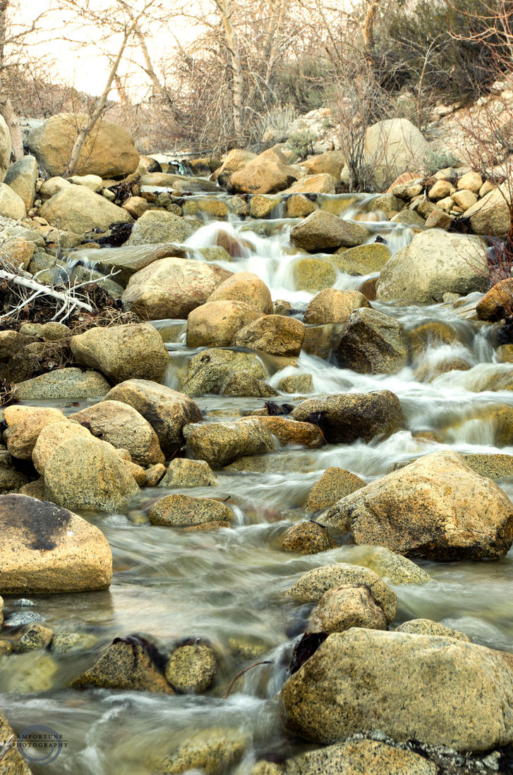 Waterfall near Davis Creek by sintar