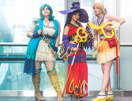 Sailormoon Dresspheres by sintar