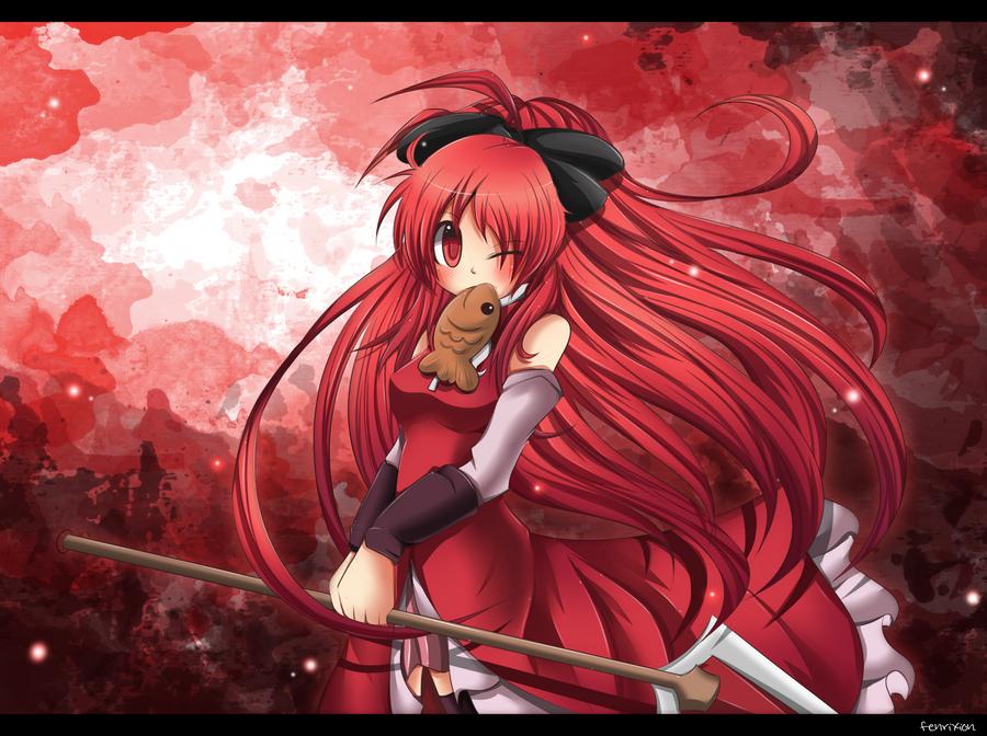 Kyouko From Puella Magi Madoka Magica by Fenrixion