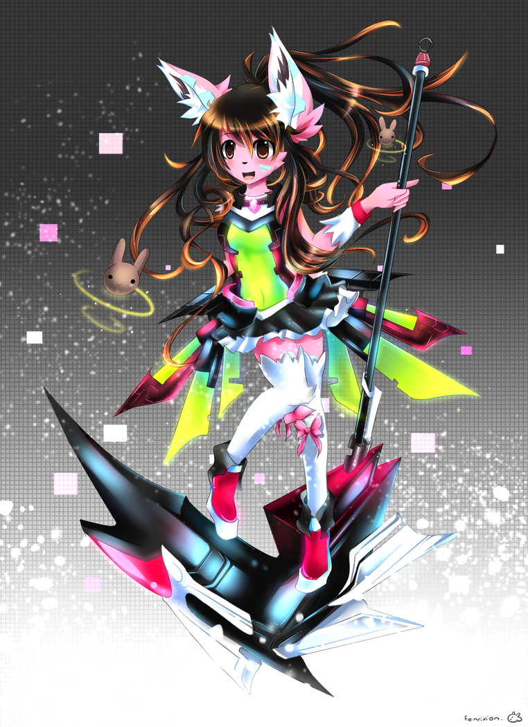 Magical Mecha Girl by Fenrixion