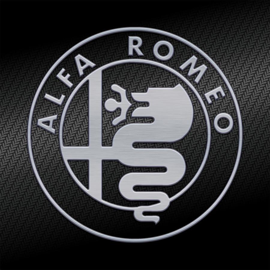 alfa romeo logo carbon kevlar2 by giulecce on deviantart. Black Bedroom Furniture Sets. Home Design Ideas