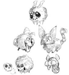 Critters by weirdlyClowny