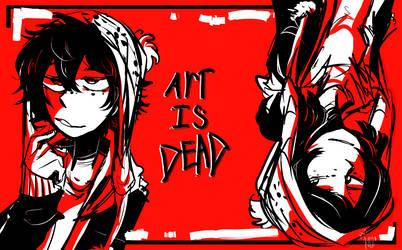 Art is dead by Kajackie