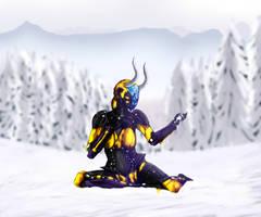 Snow by Alieraah