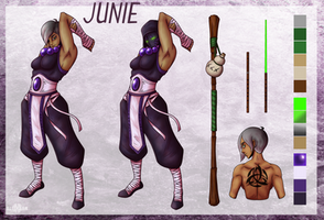 Junie Reference Sheet by Alieraah
