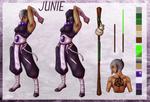 Junie Reference Sheet by Alieraah