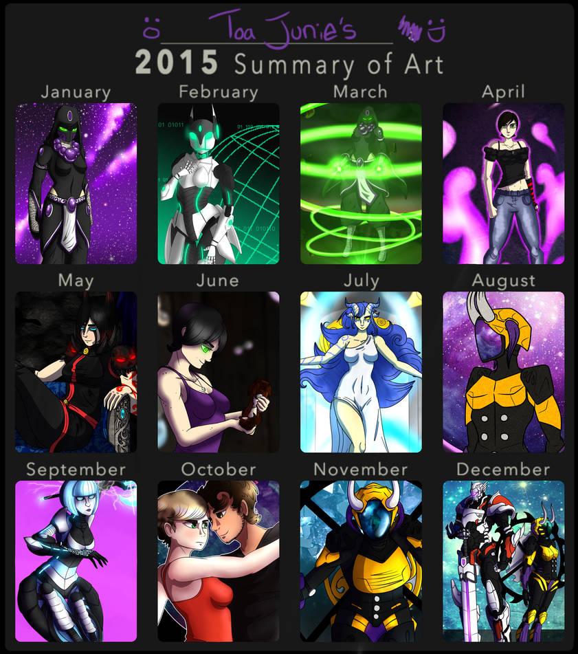 Summary Of Art 2015 by Alieraah