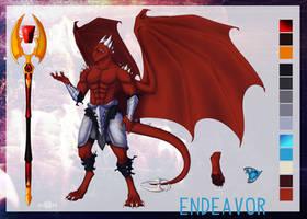 Endeavor 'Endy' Reference sheet by Alieraah