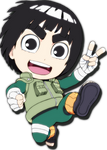 Rock Lee Render From Naruto SD