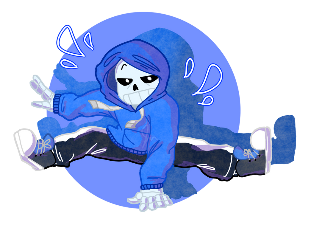 dancetale sans pacifist by purikins