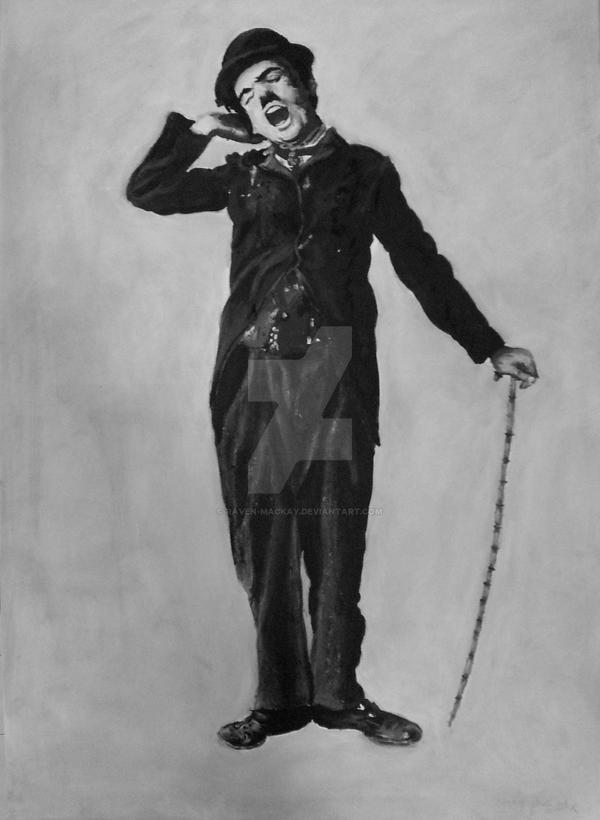 Chaplin - The Tramp by raVen-MacKay