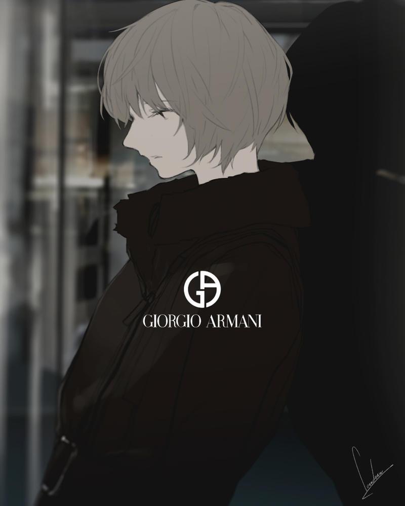 GIORGIO ARMANI by loundraw