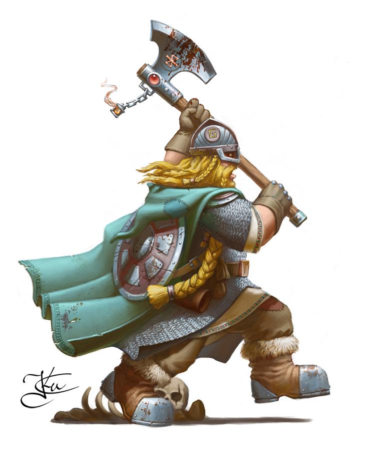 Mordheim dwarf by Goramitrio