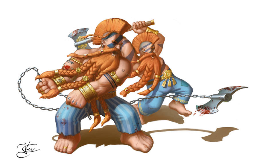 Dwarf Slayers by Goramitrio