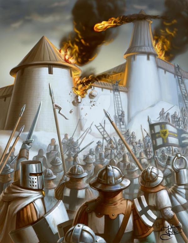 Siege of Pskov by Goramitrio