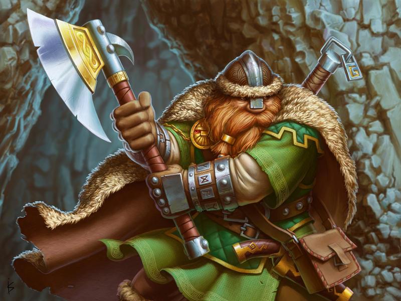 Dwarf Veteran by Goramitrio