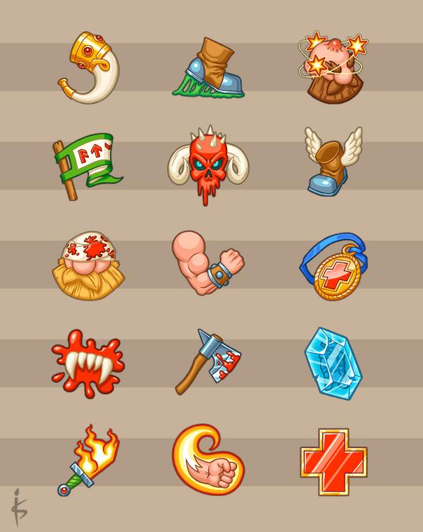 Ability Icons Set by Goramitrio