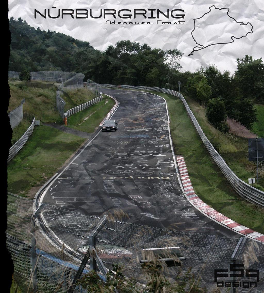 Bmw M3 CSL Nurburgring by Brutalino on DeviantArt
