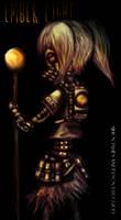 Girl Ember light (test) by asteampunk