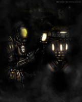 Tec and Drone Consecpt by asteampunk