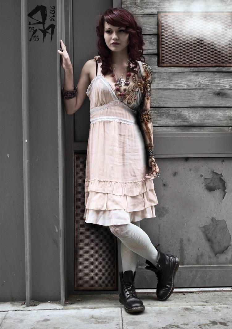 steampunk arm test three ( Project  Persephone) by asteampunk