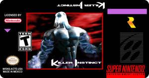 Killer Instinct Custom Label SNES