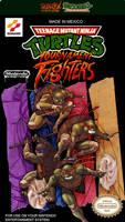 Teenage Mutant Ninja Turtles NES Custom Label